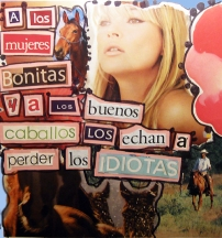 Mujeres caballos