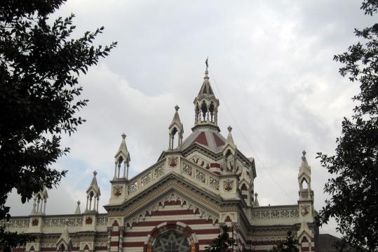 Striped church, Bogotá