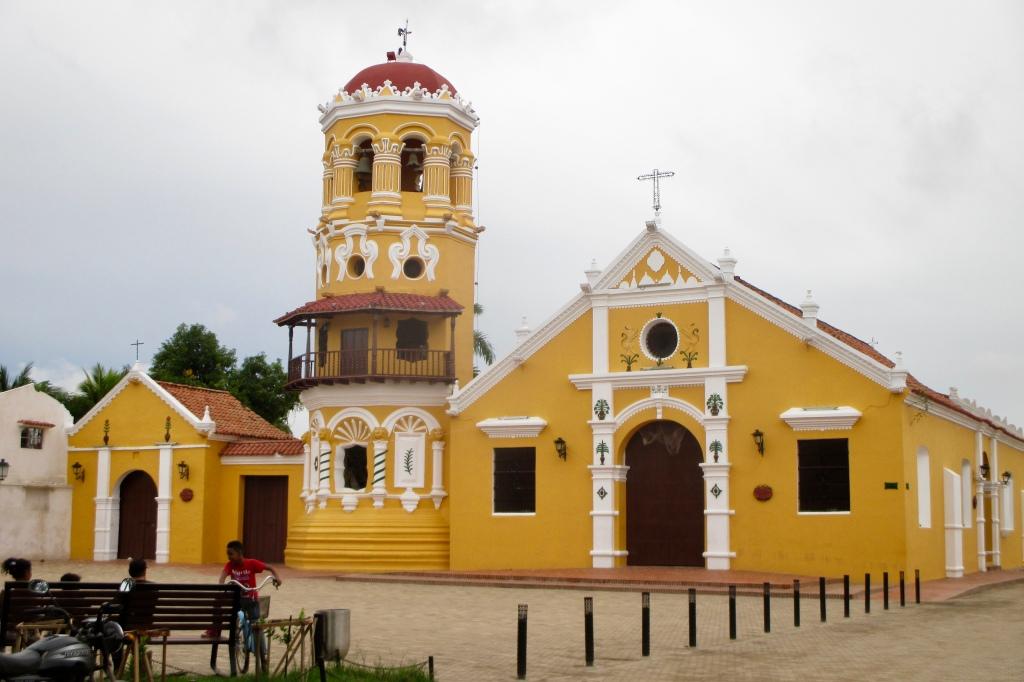 Iglesia Santa Barbara in the morning
